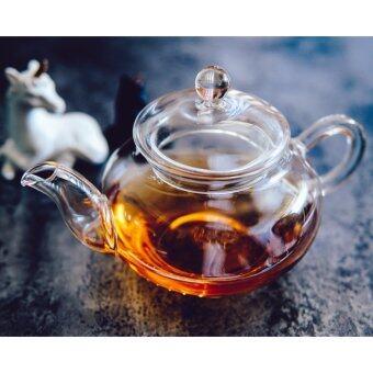 AZ81 Glass teapot กาชาแก้วใส 325ml