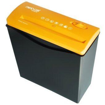 Neocal เครื่องทำลายเอกสาร และบัตรเครดิต รุ่น S0606 (สีส้ม) ของแท้ ประกันศูนย์