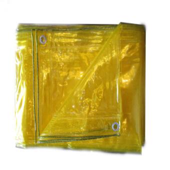 ผ้าใบใสอเนกประสงค์ 2x3 (สีเหลือง)