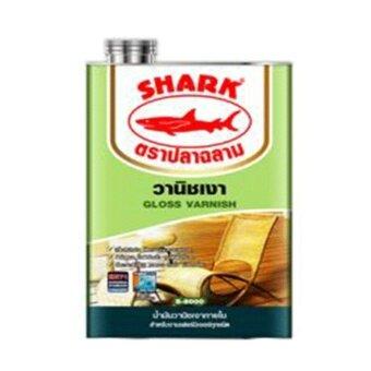 SHARK น้ำมันวานิชเงา วานิชสำหรับงานไม้ คุณภาพดี ให้ความเงางามสูง