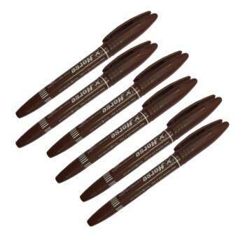 ปากกาตรวจธนบัตรปลอม ปากกาเช็คแบงค์ ตราม้า (แพ็ค 6 ด้าม)