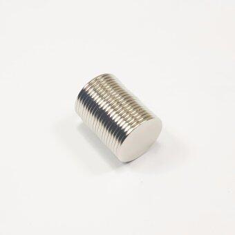 แม่เหล็กแรงสูง นีโอไดเมียม ขนาด 15mmx1mm (20 ชิ้น)