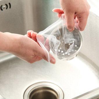 Gracefulvara 30ชิ้นที่เหลือถูกกรองทิ้งล้างจานน้ำยาอุดตันกรองถุงขยะ