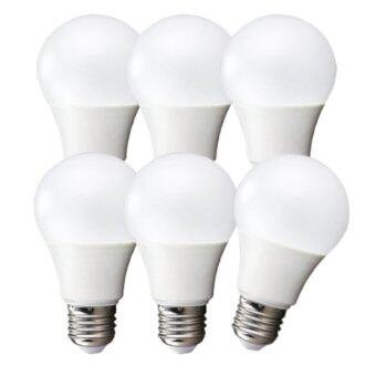 LEDANDLAMP หลอดไฟ LED BULB ขั้ว E27 ขนาด 12w. ( แสงสีขาว Day Light แพ็ค 6 หลอด )
