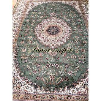 ANNAS - Classic style rugs Z309 - Viscose 200x300 cm สีเขียวบางสวย
