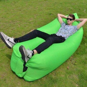 โซฟาลม โซฟาเป่าลม นั่งสบาย พกพาสะดวก (สีเขียว)