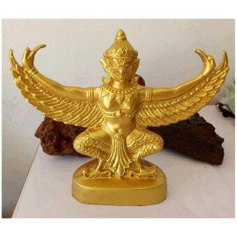 phra mongpol 0048พญาครุฑ..มวลสารแร่เหล็กน้ำพี้..องค์สีทอง