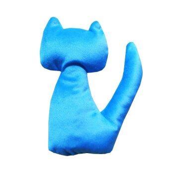 Dogacat ของเล่นแมว ตุ๊กตาแมวแคทนิป (สีฟ้า)