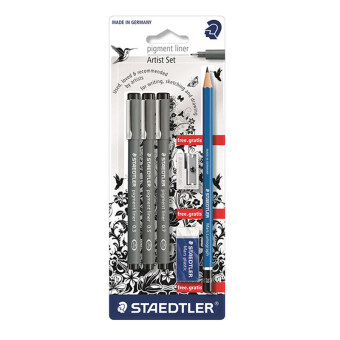 ชุดปากกาหัวเข็มStaedtler (Pigment Liner)