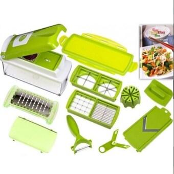 เครื่องเตรียมอาหารหั่นสไลด์ผักผลไม้ NICER DICERอุปกรณ์ในการซอย สไลด์ผักต่าง ๆ หั่นเต๋า ซอยเป็นเส้น