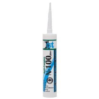 1st Sealant ซิลิโคน100% (นิวทรัล)ยาแนว รุ่นN-100 Plusขนาด300มิลลิลิตร(1หลอด)สีขาว