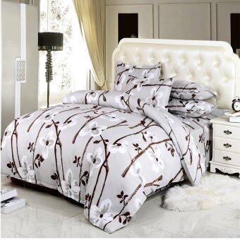 โปรโมชั่น! 3ชิ้น/4ชิ้นราคาชุดผ้าปูที่นอนการพิมพ์ ผ้าปูเตียง เตียงที่นอนเซ็ต/ปลอกหมอน/ผ้านวม คิงขนาดเต็มขนาดไม้ระแนงแบบเซ็ต ผ้าห่มนวมสององค์เดียวขนาด