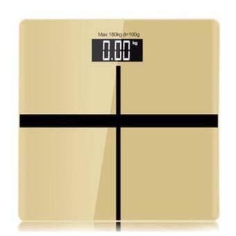 B&G Electronic weight scale เครื่องชั่งน้ำหนักดิจิตอล (Gold) - รุ่น BG-9380