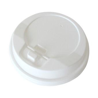 Goodwill ฝา Re-lock สำหรับแก้วกระดาษ 8 ออนซ์ 1000 ชิ้น รุ่น GW80MMLID-RW (สีขาว)