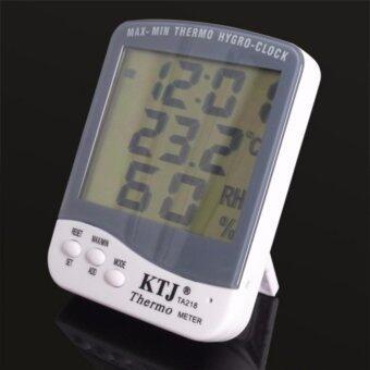 KTJ เครื่องวัดอุณหภูมิ และความชื้น -วัน-เวลา รุ่น TA218B