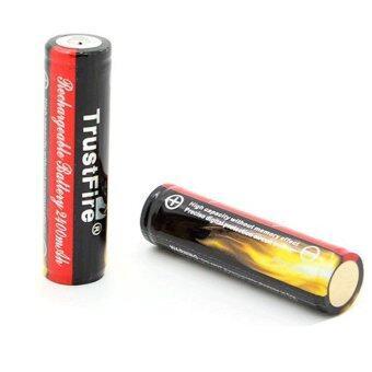 Trustfire ถ่านชาร์จ 3.7v 900 mAh ขนาด AA (2 ก้อน)