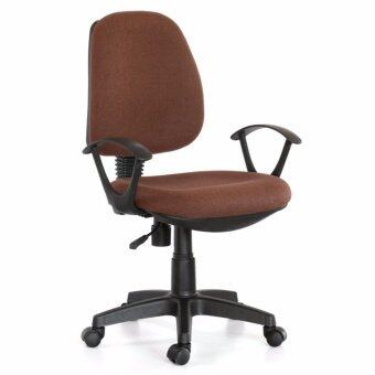 U-RO DECOR เก้าอี้สำนักงาน รุ่น PARMA-L (สีน้ำตาล)
