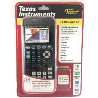 Texas Instruments Color Graphing Calculator เครื่องคิดเลขกราฟิกTI-84 Plus CE