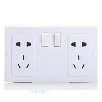 Harga Fake Secret Wall Plug Socket Security Safe Money Jewel Box Hides Valuables (White)