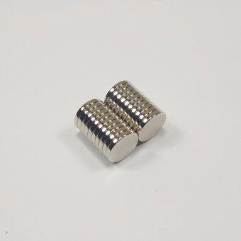 แม่เหล็กแรงสูง นีโอไดเมียม ขนาด 10mmx1.5mm (20 ชิ้น)