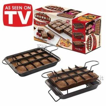 Elit ถาดอบบราวนี่ 15 ช่อง Perfect Brownie pan set