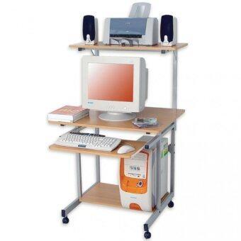 Asia โต๊ะวางคอมพิวเตอร์ รุ่น Easy Com สีบีช