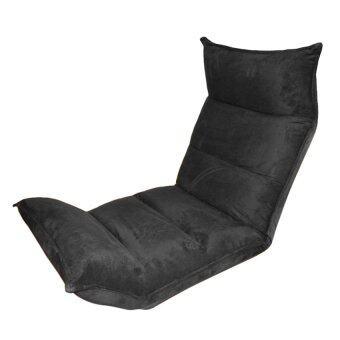 Décor เก้าอี้ญี่ปุ่น Floor Chair 1027 (สีดำ)