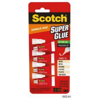 SCOTCH® SUPER GLUE GEL, SINGLE USE สก๊อตช์® ซูเปอร์กลู AD119 ซิงเกิ้ลยูส