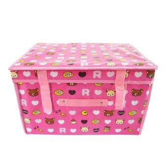 Replica Shop กระเป๋าจัดเก็บของอเนกประสงค์ ลาย Mini Bear - สีชมพู
