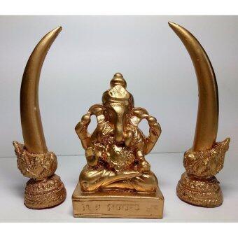 phra mongpol พระพิฒเนตร สีทอง พร้องงา 2 ข้าง