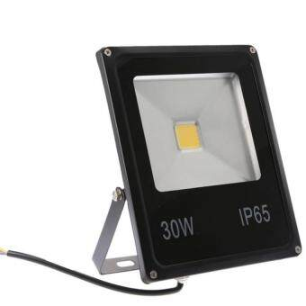 โคมไฟ led 30W IP65 L Flood Light Spotlight 90-240V(Black)