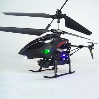 Harga 3.5 Ch Radio Remote Control RC Metal Gyro Helicopter with Camera Airplane (Intl)