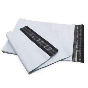 ซองพลาสติก 17x26+4 ซม.100 ใบ (สีขาว)