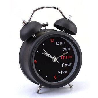 จำนวนชั้น/อังกฤษคลาสสิกเรโทรระฆังนาฬิกาปลุกบนโต๊ะโต๊ะ (สีดำ)
