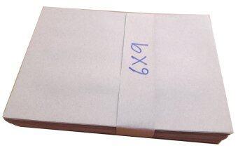 ซองเอกสาร สีน้ำตาล ขนาด กว้าง 6 นิ้ว ยาว 9 นิ้ว จำนวน 50 ซอง กระดาษ KB หนา 110 แกรม สำหรับใส่เอกสาร สินค้า สำหรับสำนักงาน