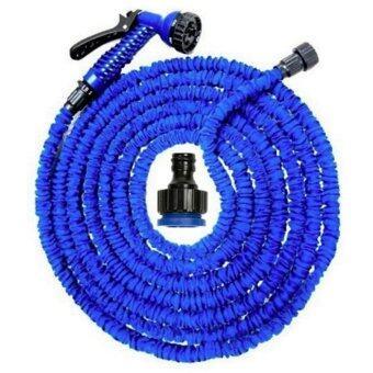 Elastic Hose สายยางยืดหด-in-หัวฉีดน้ำ 15เมตร/50FT จะขยายและสัญญา(Blue)