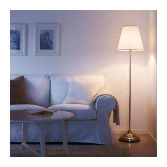 ARSTID โคมไฟตั้งพื้น Floor lamp สูง 155 cm (นิเกิล-ขาว)
