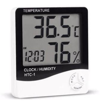 ที่วัดอุณหภูมิและความชื้น HTC-1 Thermometer & Hydrometer