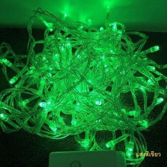 ไฟกระพริบประดับต้นไม้LED แบบแสงสีเขียว