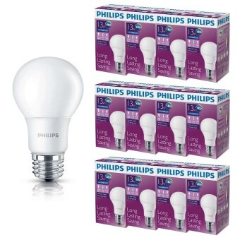 Philips หลอด LED BULB 13 วัตต์ ขั้ว E27 - แสงเดย์ไลท์ (12 ดวง)