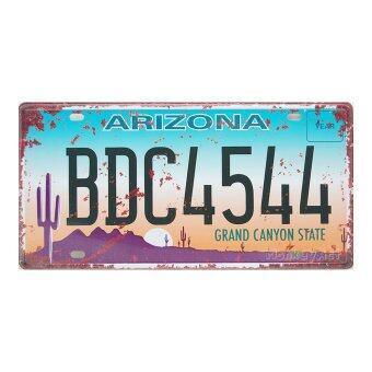 ป้ายทะเบียนตกแต่งบ้าน Arizona BDC4544 Grand Canyon State, ขนาด 30x15 ซม
