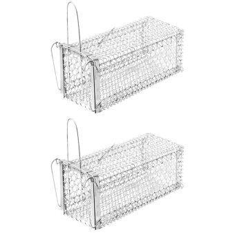 papamami Cage Rat Trap กรงดักหนูเล็ก ขนาด 5 นิ้วx11นิ้วx5นิ้ว (2กรง)