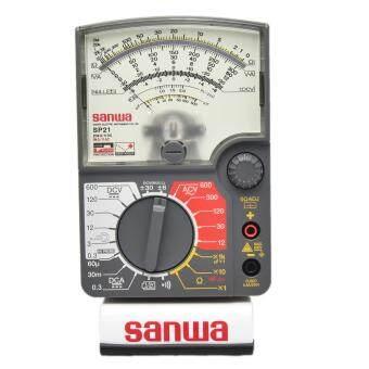Sanwa อนาล็อก มัลติมิเตอร์ Drop-Proof รุ่น SP21