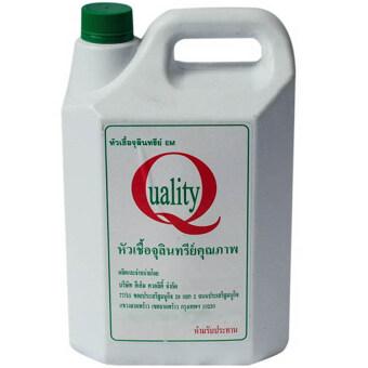 EM Quality หัวเชื้อจุลินทรีย์ อีเอ็ม EM 5 ลิตร (1แกลอน)