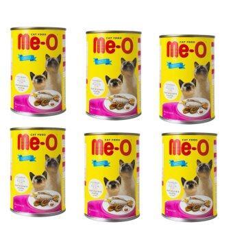 Me-o can อาหารเปียก แบบกระป๋อง ซีฟู๊ด400g ( 6 units )