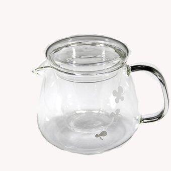 AZ09 กาน้ำชาแก้วใส 500ml