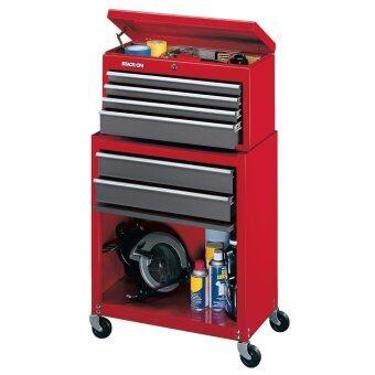 STACK-ON ชุดตู้เก็บเครื่องมือแบบ 6 ลิ้นชัก รุ่น SC-600 (สีแดง/เทา)