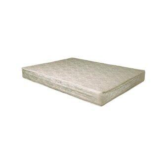 DAXTON ที่นอนเสริมยางและใยมะพร้าวเสริมฟองน้ำ หุ้มผ้า สีครีม ขนาด 5 ฟุต หนา 6 นิ้ว รุ่น Rotas - 5 Apartment (white) Queen Size Bed