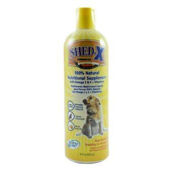 Shed-X Dermaplex for dogs ผลิตภัณฑ์อาหารเสริมบำรุงขนสำหรับสุนัข ขนาด16oz (473ml)