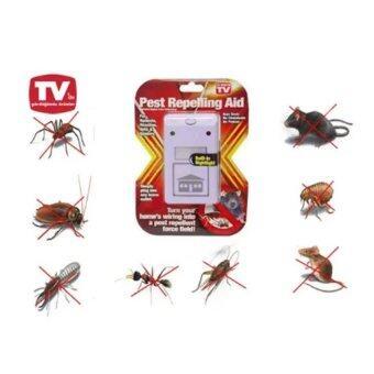 เครื่องไล่หนู ไล่ยุ่งและไล่แมลงสาบ Pest repeller Riddex L0015 (สีขาว) 1ชิ้น